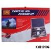 wooden box gun cleaning kit