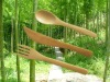 Coffee spoon (made of bamboo )