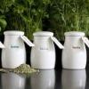 ceramic herb and spice pot or jar
