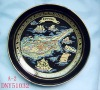 souvenir gift ceramic plate