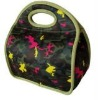 fashionable neoprene lunch bags with handle