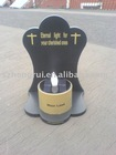 Christian Memorial solar candle