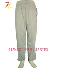 2012 hot sale knitted french terry cheap mens long pants