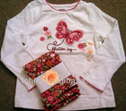 Newest children clothing set for 2013 spring clothing