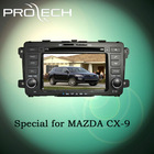 Special for MAZDA CX-9 car dvd player GPS navigation system Bluetooth Ipod HD LCD Win CE6.0 PIP