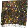 100% wool digital printed scarves