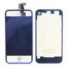 Blue Clear Plating Replacement Digitizer Front LCD Digitizer Back Housing Assembly For iPhone 4S 4GS