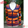 2013 New Design Striped lady cardigan sweater