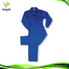 Custom 100 cotton blue coverall for men