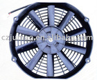 11'' 24v cooling auto condenser fan