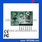 Super Regeneration receiver module(Learning code)