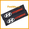 Car Truck Seat Belt Protector Embroidered Safety Shoulder Cover pads for Hyundai(FD-SBC-Hyundai)