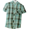 100% Cotton Man Plaid Short Sleeve Shirt