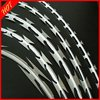 855)high quality razor blade barbed wire/razor barbed wire