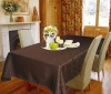 100%polyester jacquard table cloth