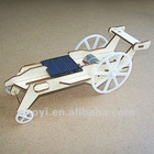 solar wooden car toy