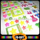Foam Puffy Stickers
