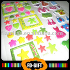 Foam Puffy Stickers