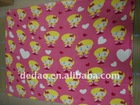 Comfortable kids blanket with little girls printing