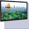 front and Rear projaction fixed framed Projection Screen