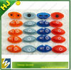 silicone single button
