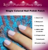 Single Colored Nail Polish Patch/Sticker