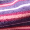 Yarn dyed polar fleece fabric