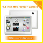 4.3inch HDMI MP5 Player with Camera
