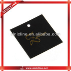 paper card with cotton string for garments