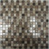 5/8'x5/8' Stone Metal Mix Mosaic Tile