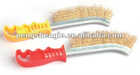 PLASTIC HANDLE STEEL WIRE BRUSH