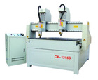 Wood relief cnc router with more heads ZK1313S