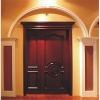 Classical solid wooden entry door