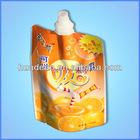 spout bag for beverage