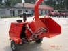 Powered 40HP diesel engine wood chipper