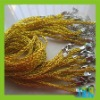 metal chain cord for necklace with clasps JS022