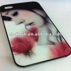 cute cartoon many design logo cover for iphone 4,4s case