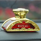 Luxury Royal Crystal Car Cologne Perfume Bottle Air Freshener Hot