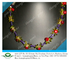 2012 Fashion Garnet&Peridot Cubic Zirconia Necklace for women