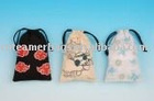 2011 cotton mobile pouch China New mp3