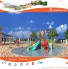 Commercial Fiberglass Water Park Slide Equipments