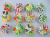Simulation Food Artificial cupcake pvc Fridge Magnets MF-0069