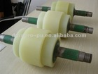industrial Polyurethane coated ginding roller with metal core