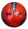 metallic leather soccerball