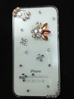 simple diamond Cases flower