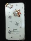simple diamond Cases flower