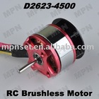 Hobby Electric brushless DC Outrunner Motor RC Helicopter Spare Parts D2623-4500