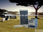 4.5AH DC solar home lighting system
