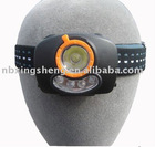 3w+4 flash cree LED headlamp headlight head light LED Projector headlight