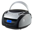 Portable CD/MP3/USB Boom Box Player with AM/FM Stereo Radio